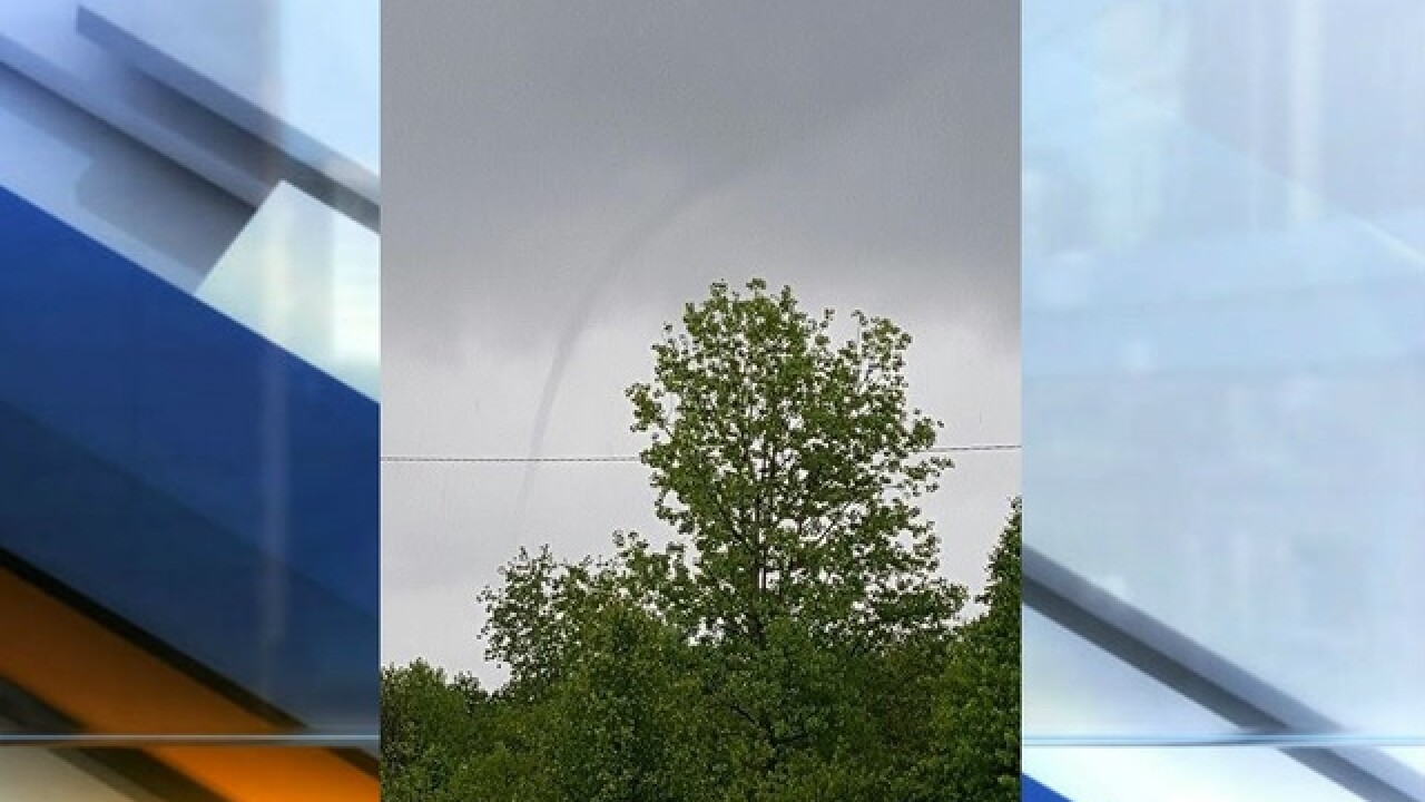 PHOTOS: Cold air funnel