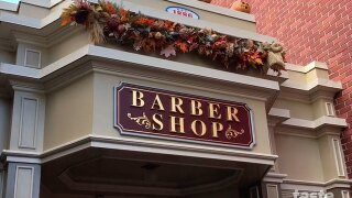 The most magical place to get baby's first haircut