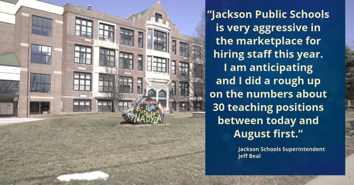 Jackson Schools Quote