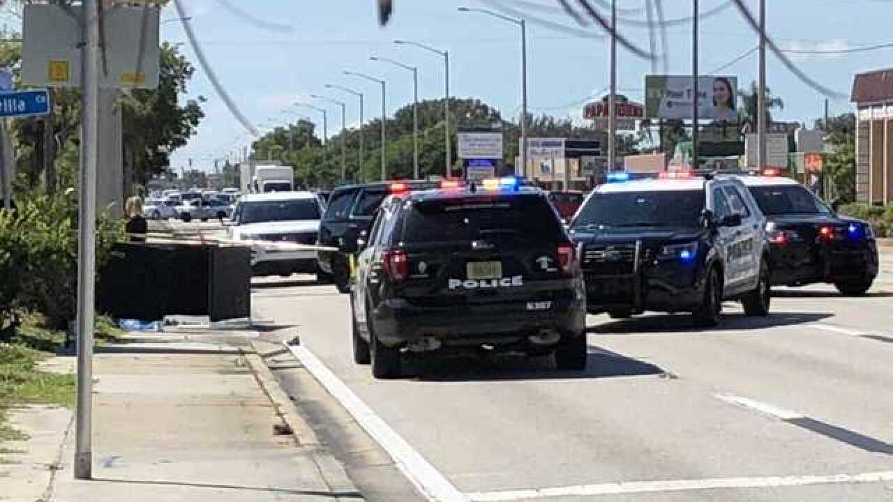 U S  41 in Fort Myers reopened after fatal crash involving