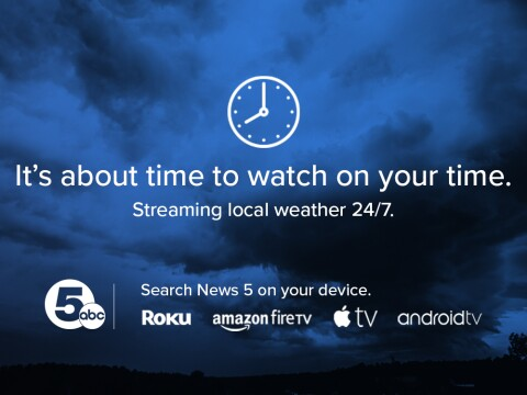 Download our streaming app on your favorite device.  Click here for more.