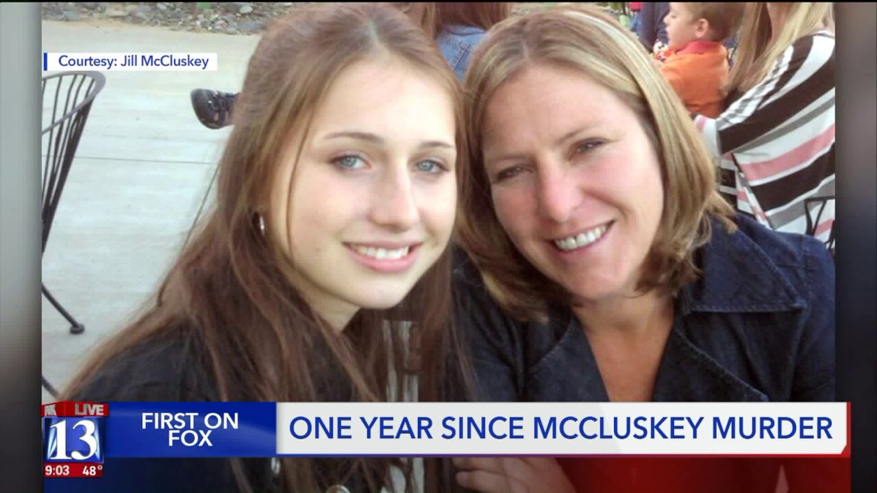 Jill McCluskey reflects on loss of Lauren one year later