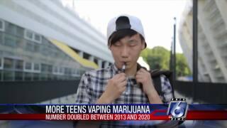 Students who vape marijuana doubled in 8 years