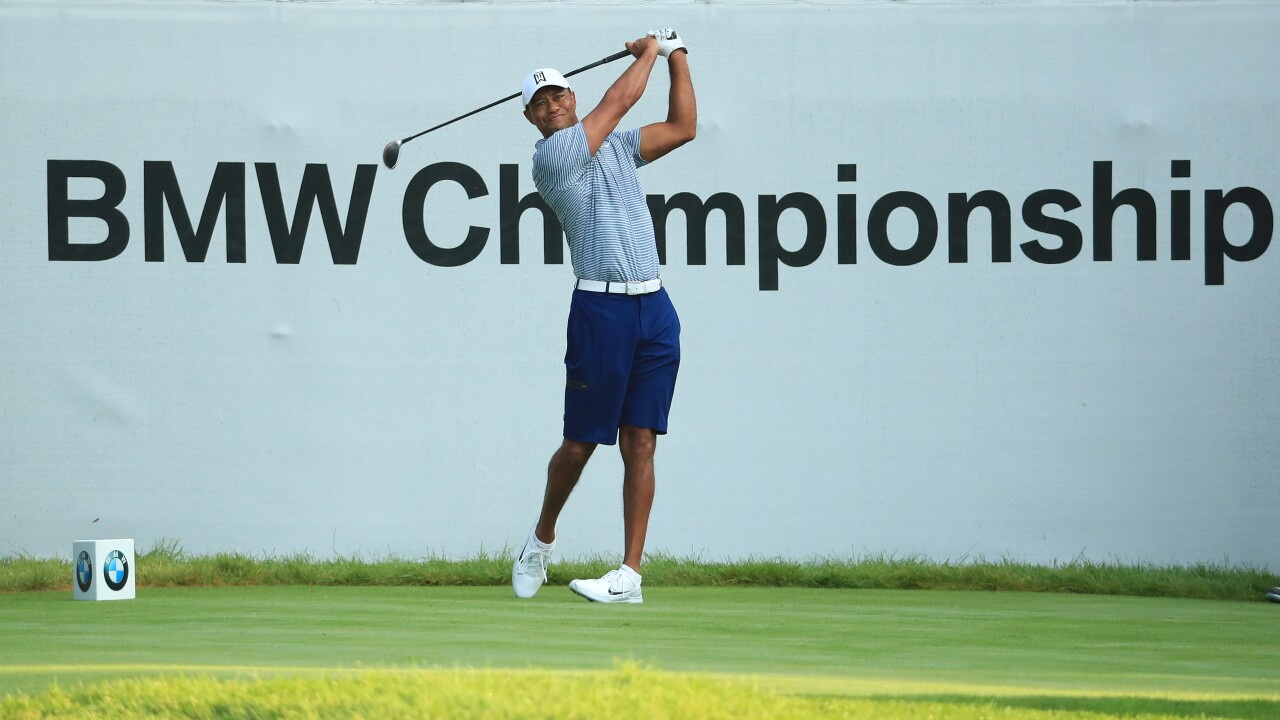 Tiger_Woods_BMW Championship - Preview Day 3