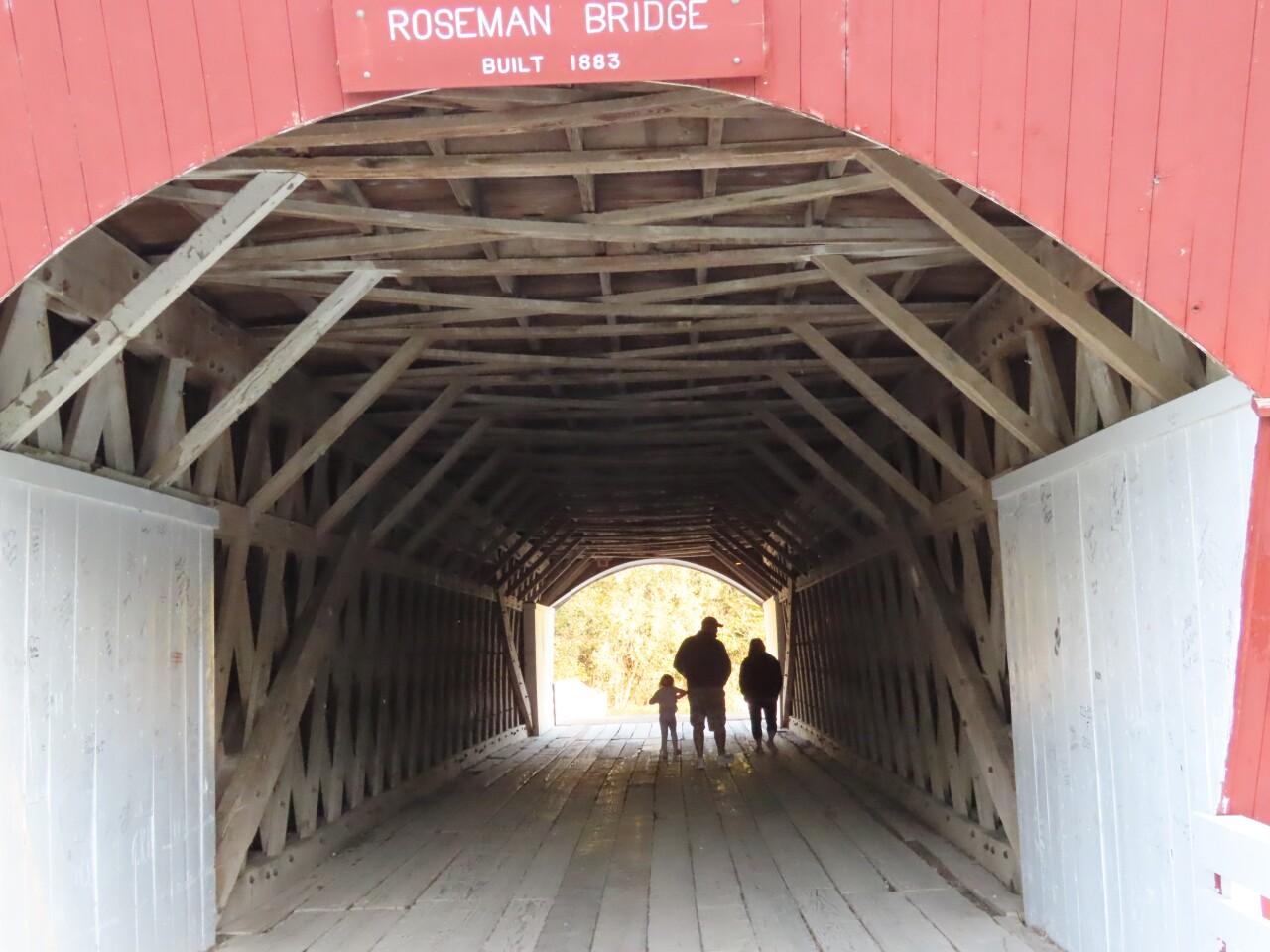 A look inside Roseman Bridge