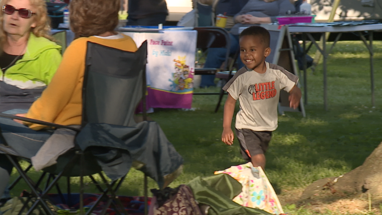 Dancing, laughter, community return at Dundalk Music in the Park