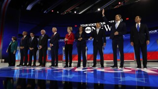 Dates, locations for 2020 presidential debates announced
