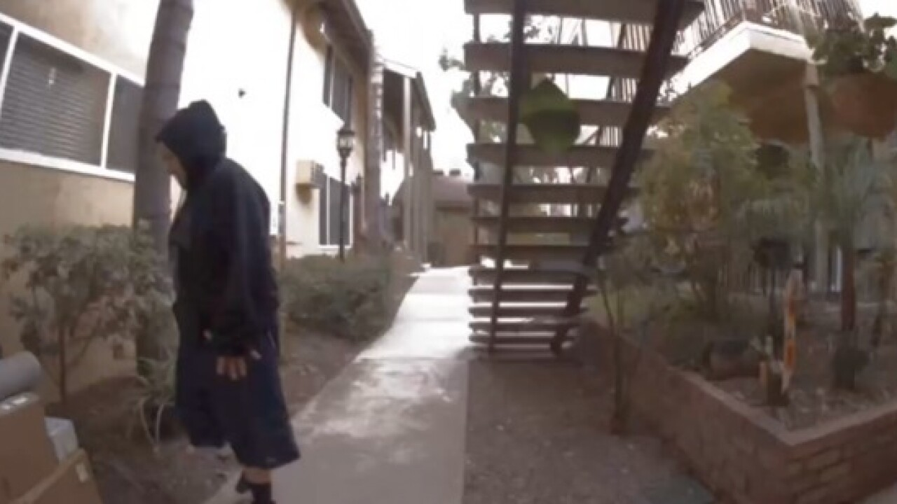 Thief grabs donations meant for veterans