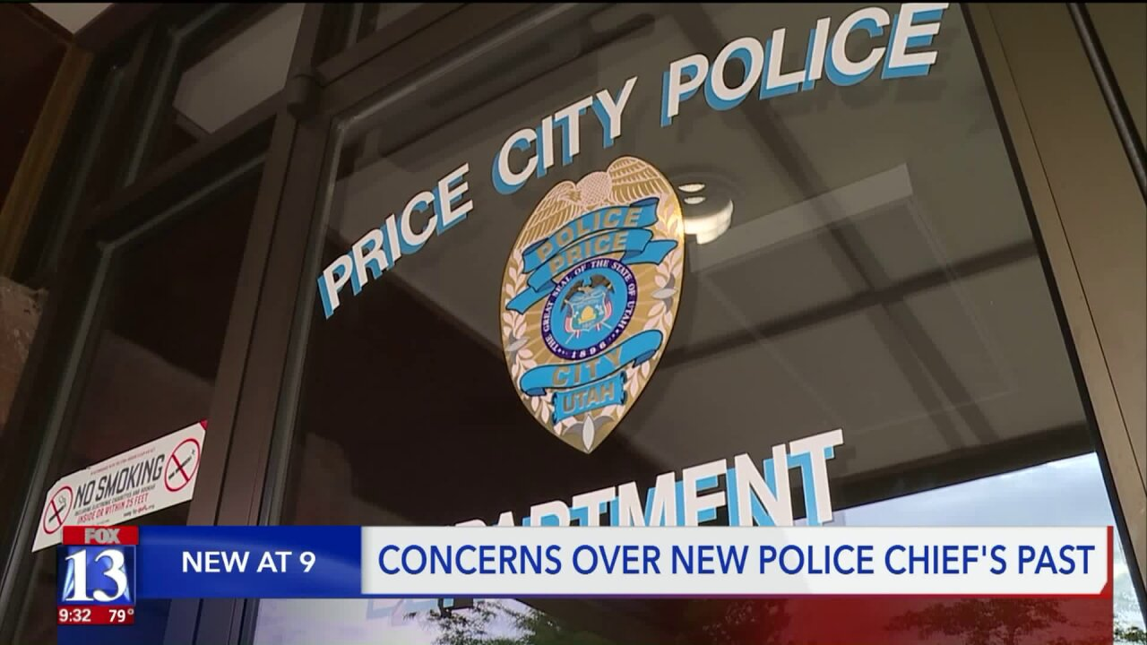 Price mayor responds to concerns over new police chief