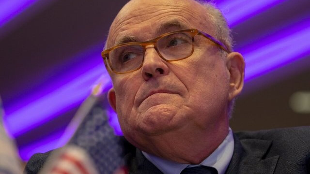 Giuliani: President Trump now open to resisting an interview with Robert Mueller