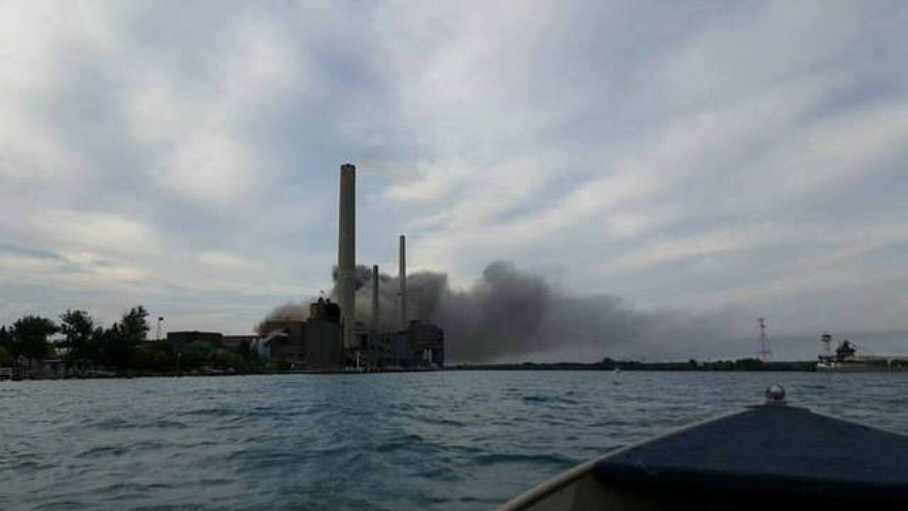 Explosion at DTE Energy facility in East China