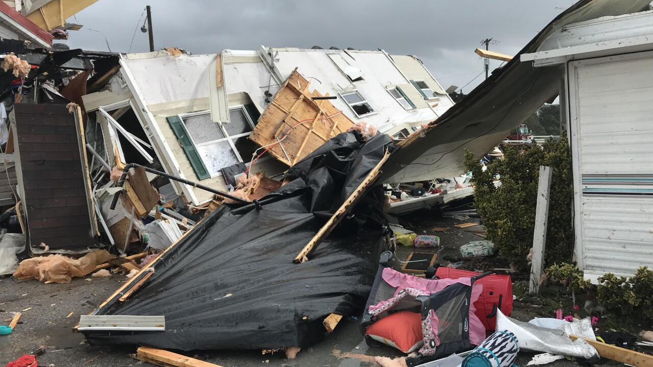 Tornado hits Emerald Isle, North Carolina ahead of Hurricane Dorian