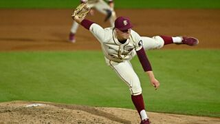 Messick Dominates in Shutout of No. 16 Virginia