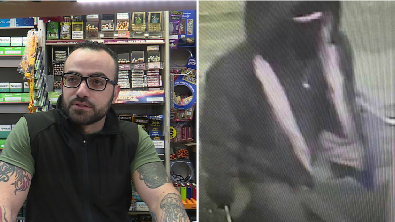 Richmond clerk fires gun at knife-carrying robber: 'I had to takeaction'
