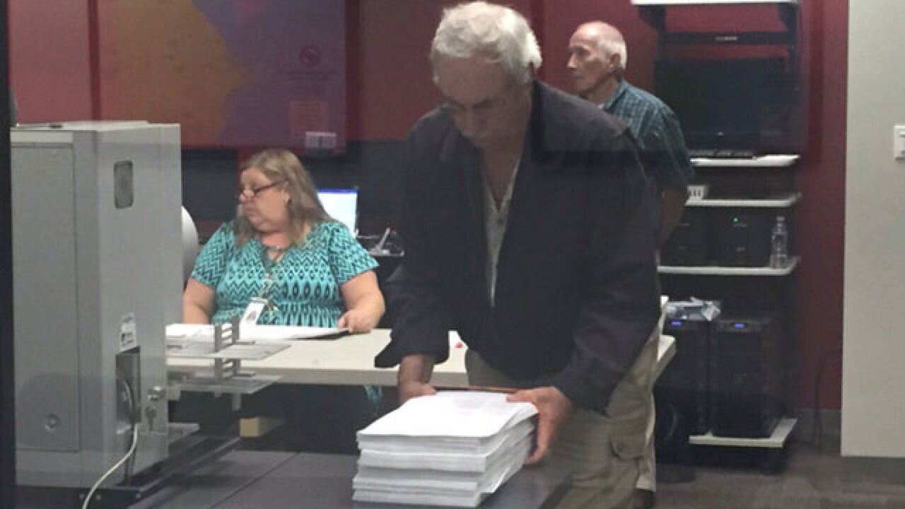 Manatee recount starts over due to 'human error'