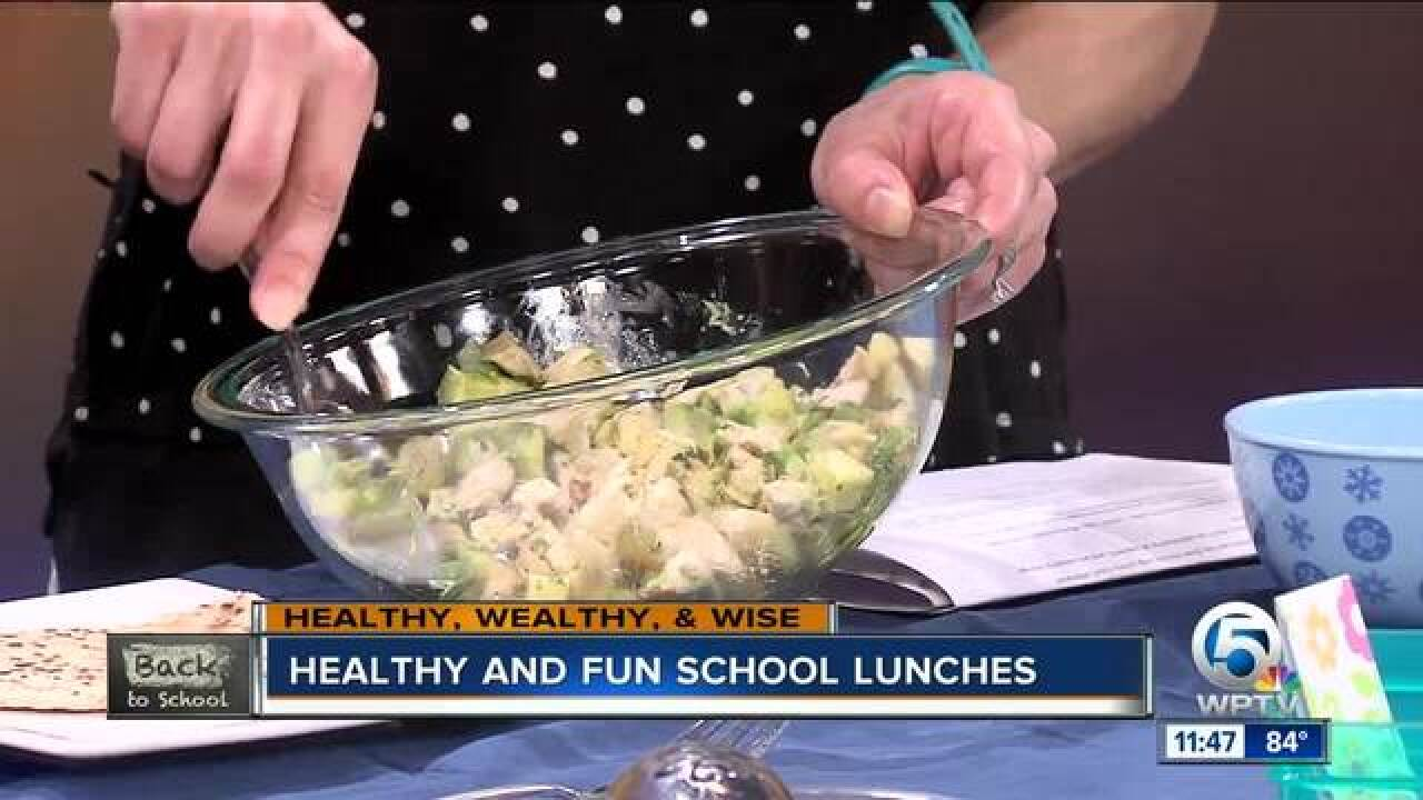 Healthy and fun school lunches