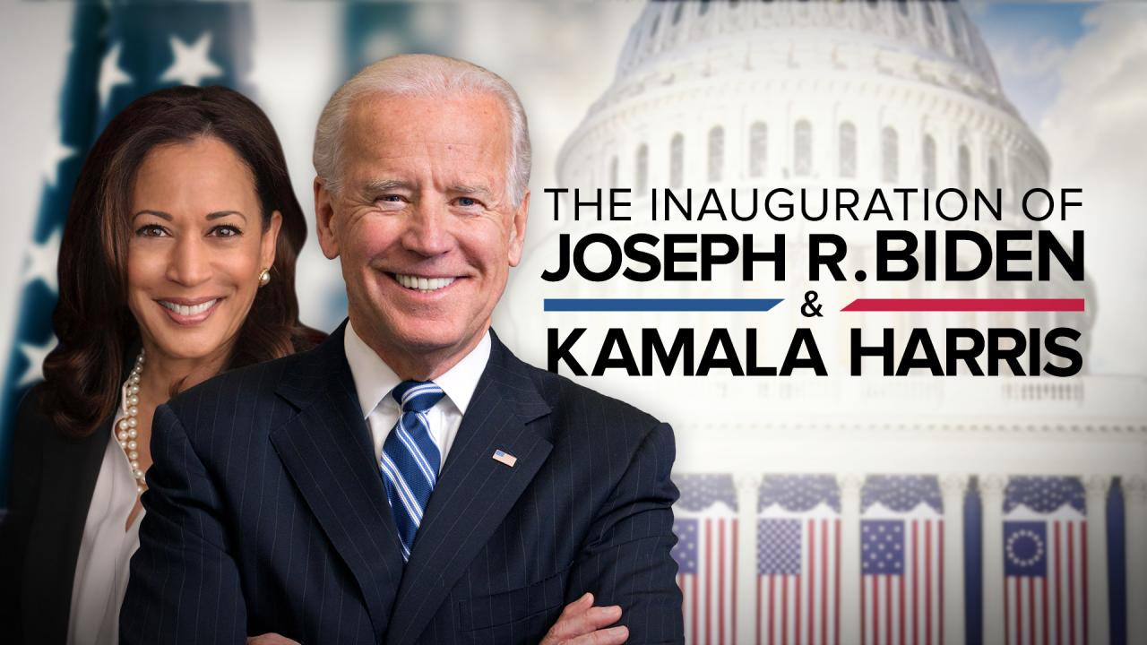 Inauguration of Joe Biden and Kamala Harris