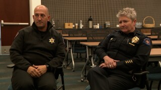 """'We want to come back,"""" Aurora Police Chief and Arapahoe County Sheriff detail SRO plan"""