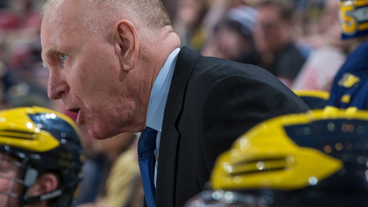 Former Michigan Hockey Coach Red Berenson to be inducted in US Hockey HOF