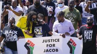 Jacob Blake's family will host a community gathering in Kenosha ahead of Trump visit
