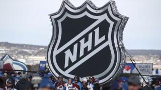 NHL logo Stadium Series