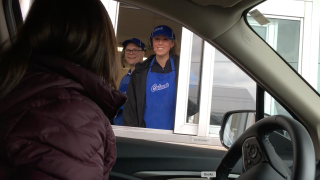 Michigan principal surprises student with valedictorian announcement in restaurant's drive thru
