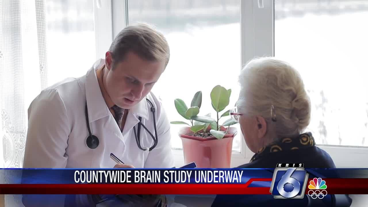 Brain research study coming to Corpus Christi