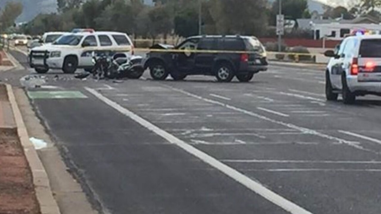 PD: Officer seriously hurt in N PHX crash