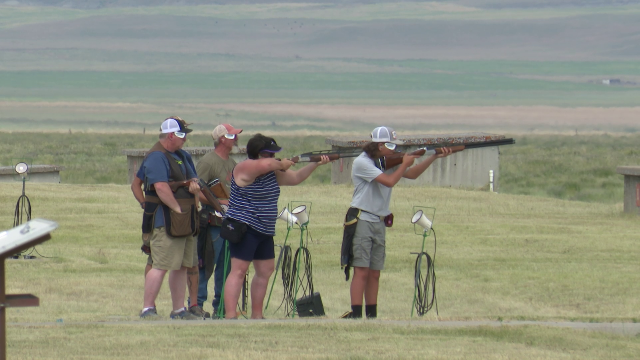 Great Falls is hosting the Montana State Trap Shoot