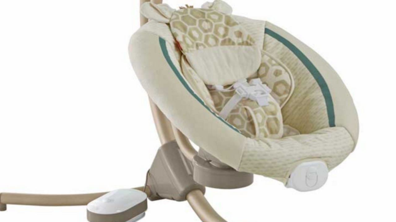 Faulty peg spurs Fisher-Price baby swing recall