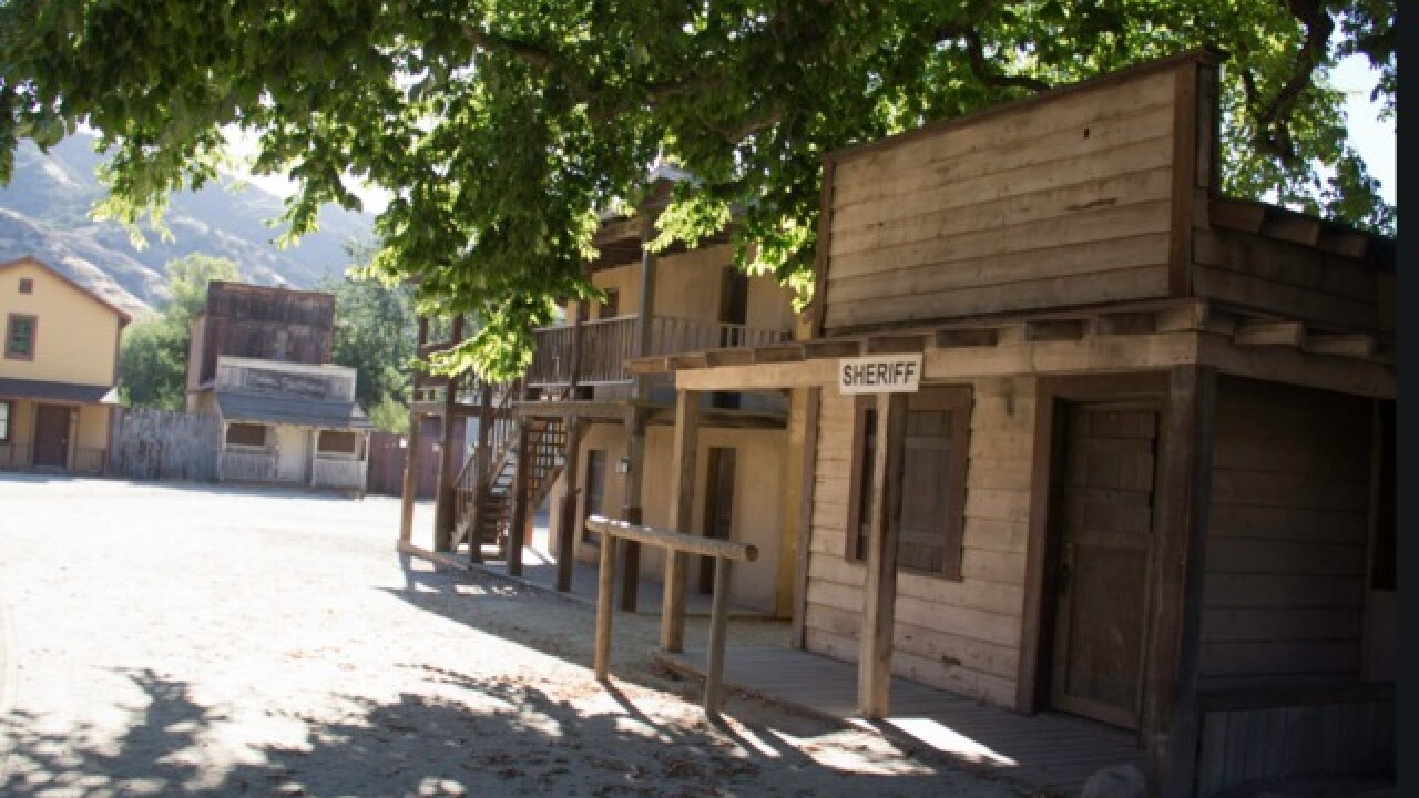 Hollywood's Western Town destroyed in fire