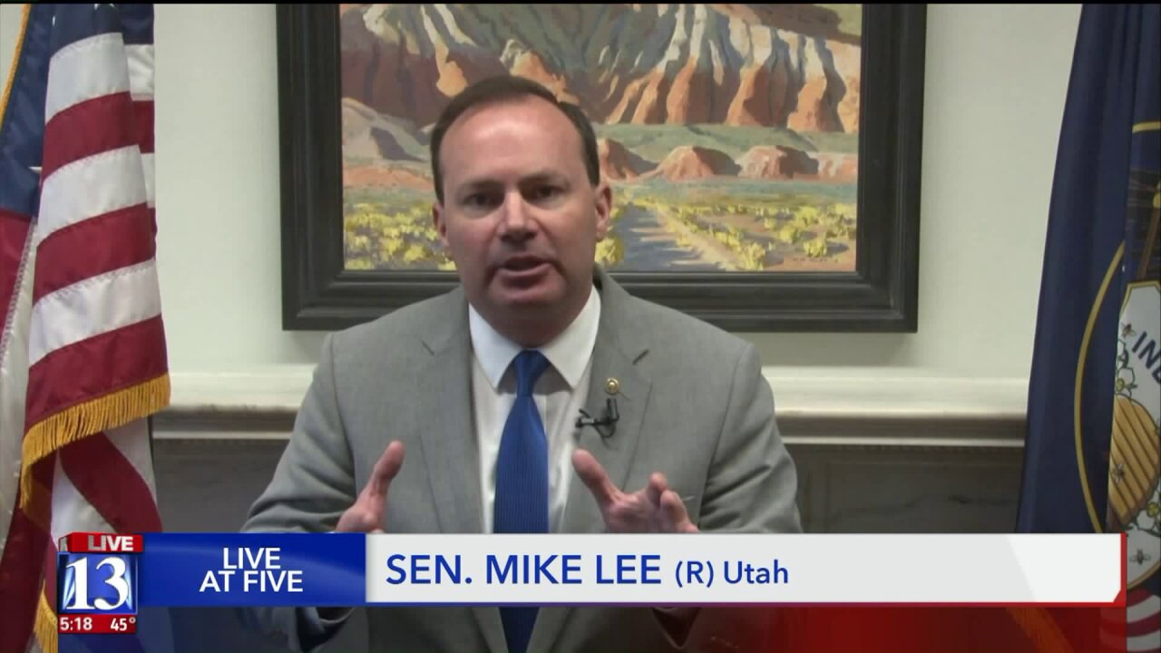 Sen. Mike Lee open to witnesses, but still says Trump's actions are not impeachable