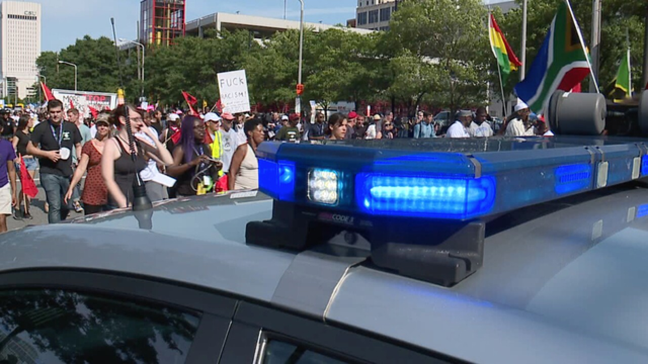 CLE RNC protesters commment on police tactics