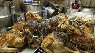 Americans gobble up almost 100 million turkeys a year