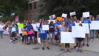 Protest in Oakland County