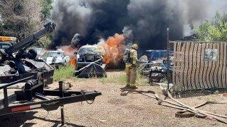 CSFD vehicle fire