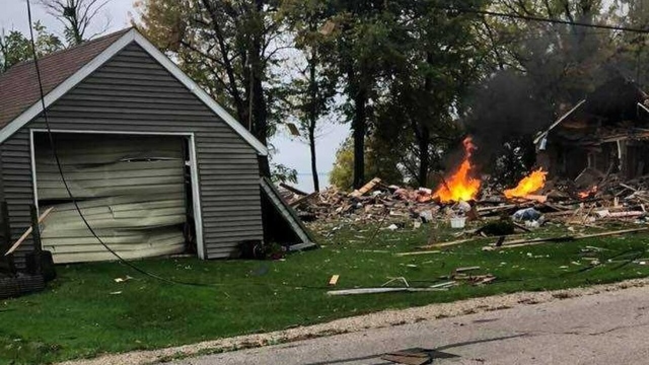 Deputies:House exploded in the Town of Harrison
