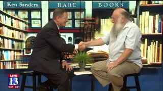 3 Questions with Bob Evans: Rare book seller KenSanders