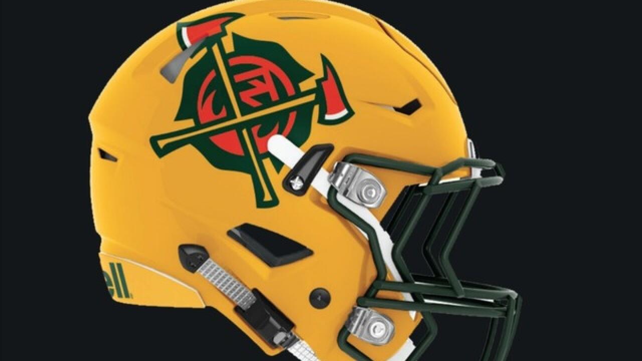 df596938 Arizona Hotshots unveil helmets, uniforms for inaugural AAF season