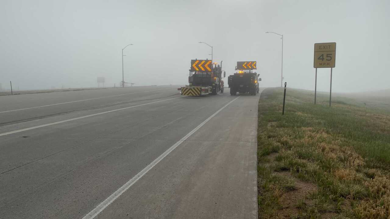 Highway 40 closure for search for suspect