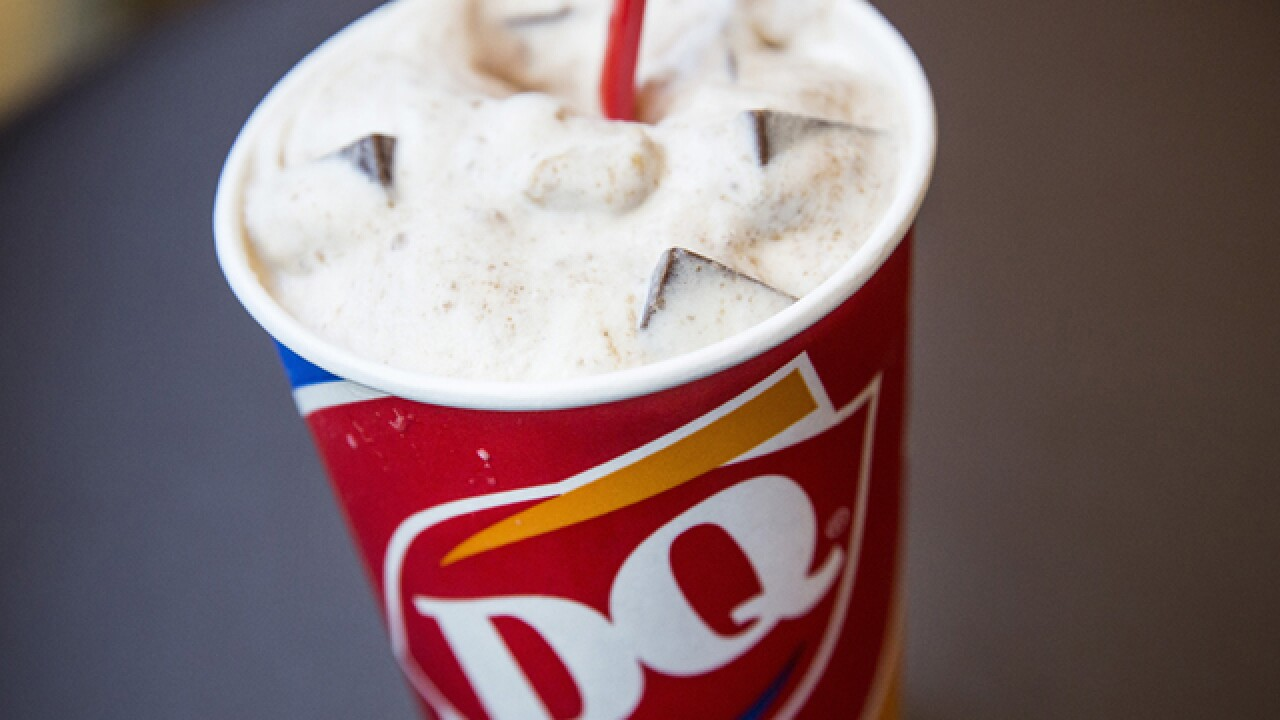Dairy Queen offering free Blizzards