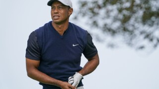 Justin Thomas delivers again with Tiger Woods in course exhibition