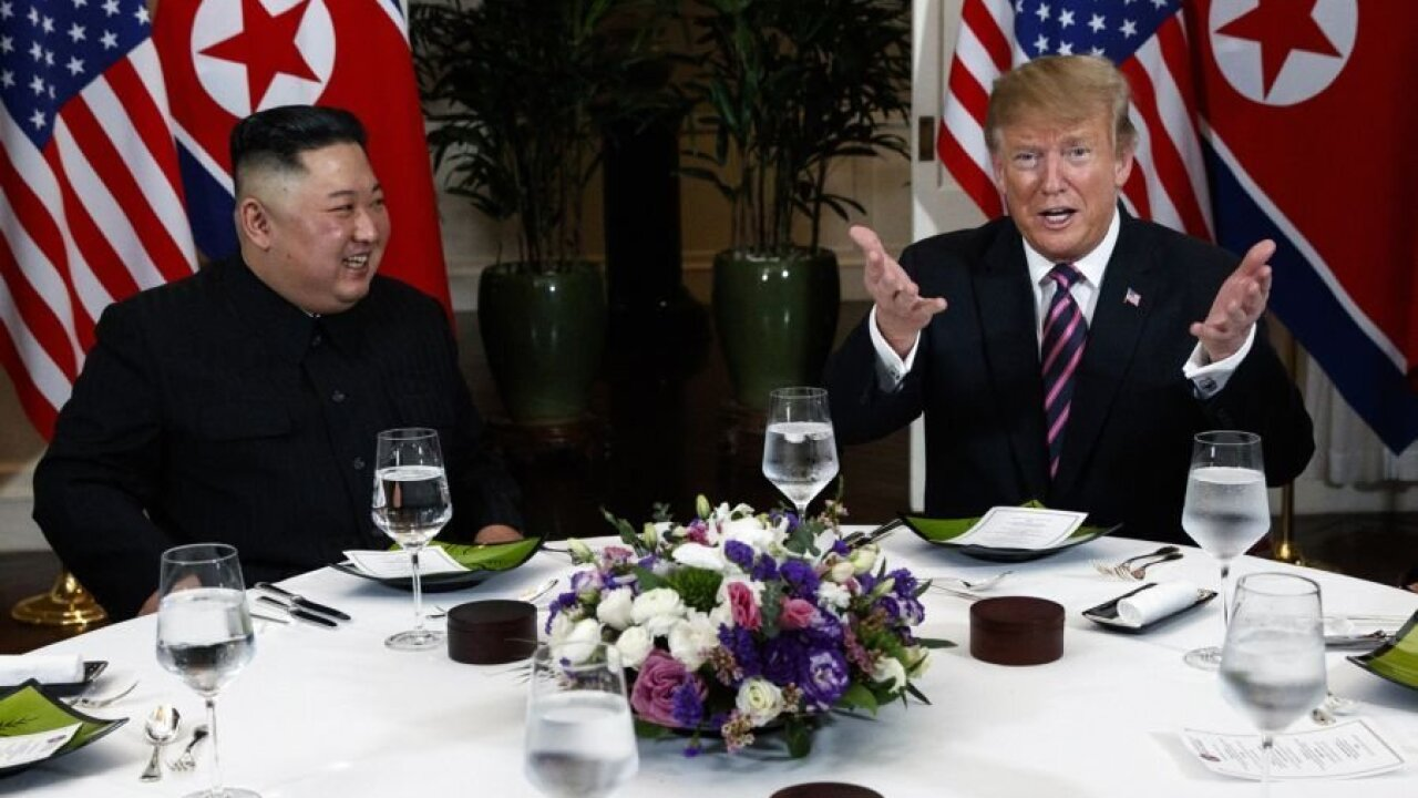 Trump dines with Kim as world waits on potential deal