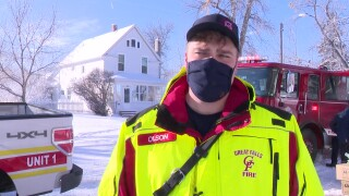 Great Falls firefighters deliver coats for kids in need