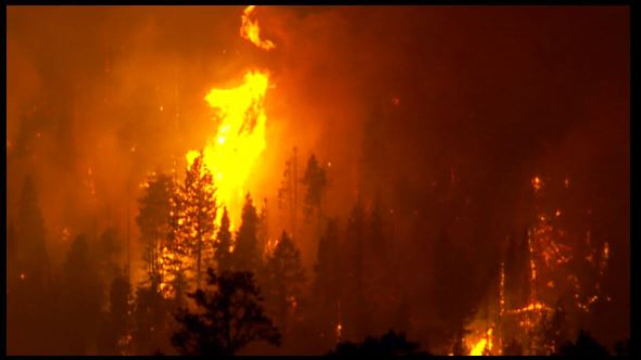 Springville residents told to prepare in case they are evacuated due to Pole CreekFire