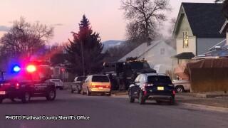 """""""High-risk"""" search warrant yields 5 arrests in Kalispell"""