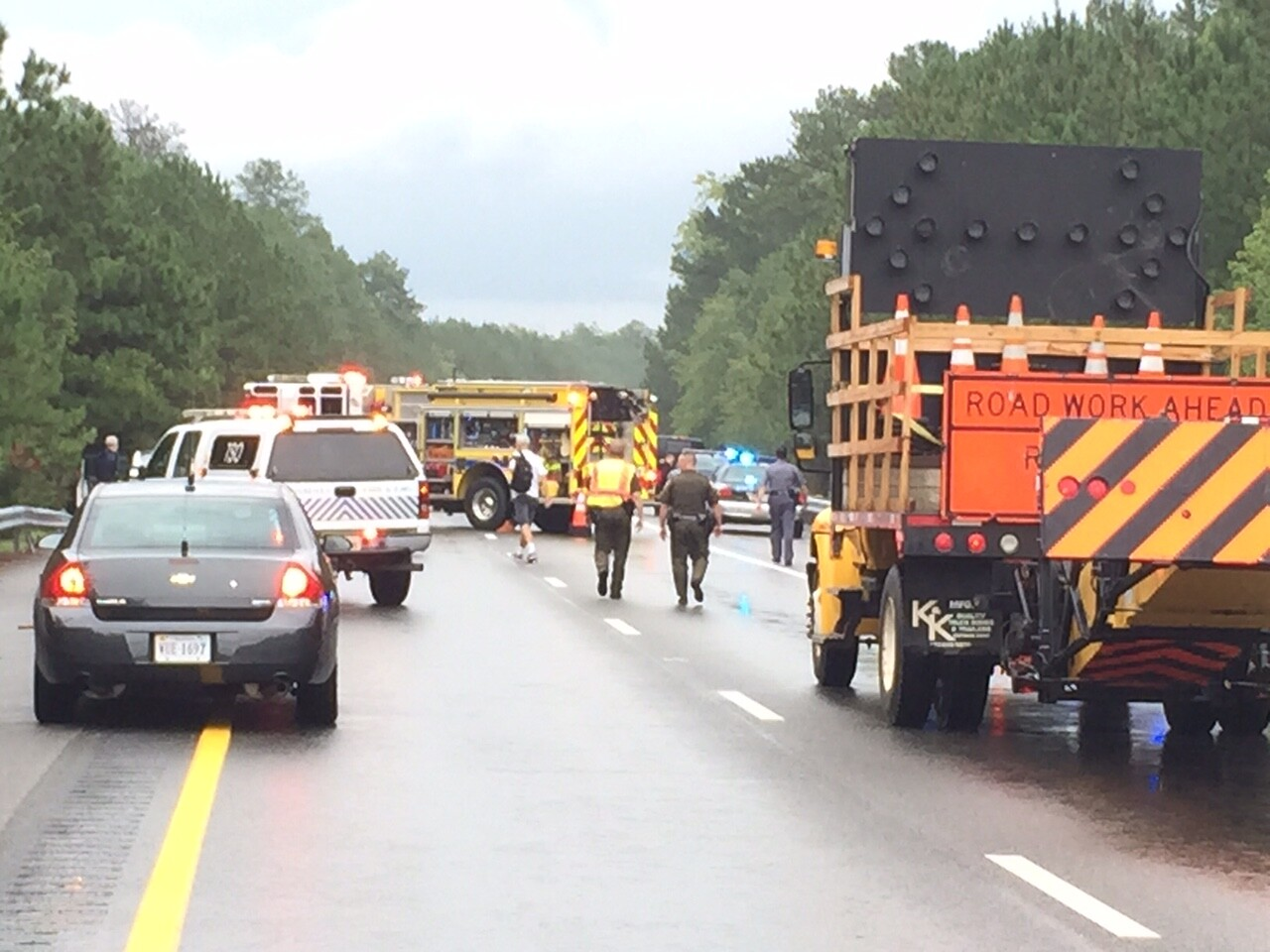 Photos: Police ID Chesterfield woman killed in 5-vehicle wreck on Route288