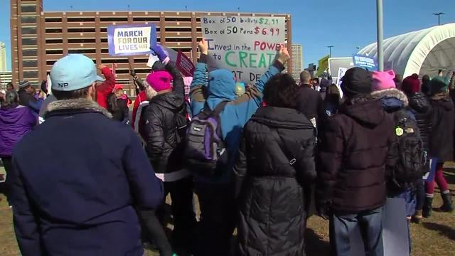 PHOTOS: Thousands gather in Detroit for March for Our Lives rally