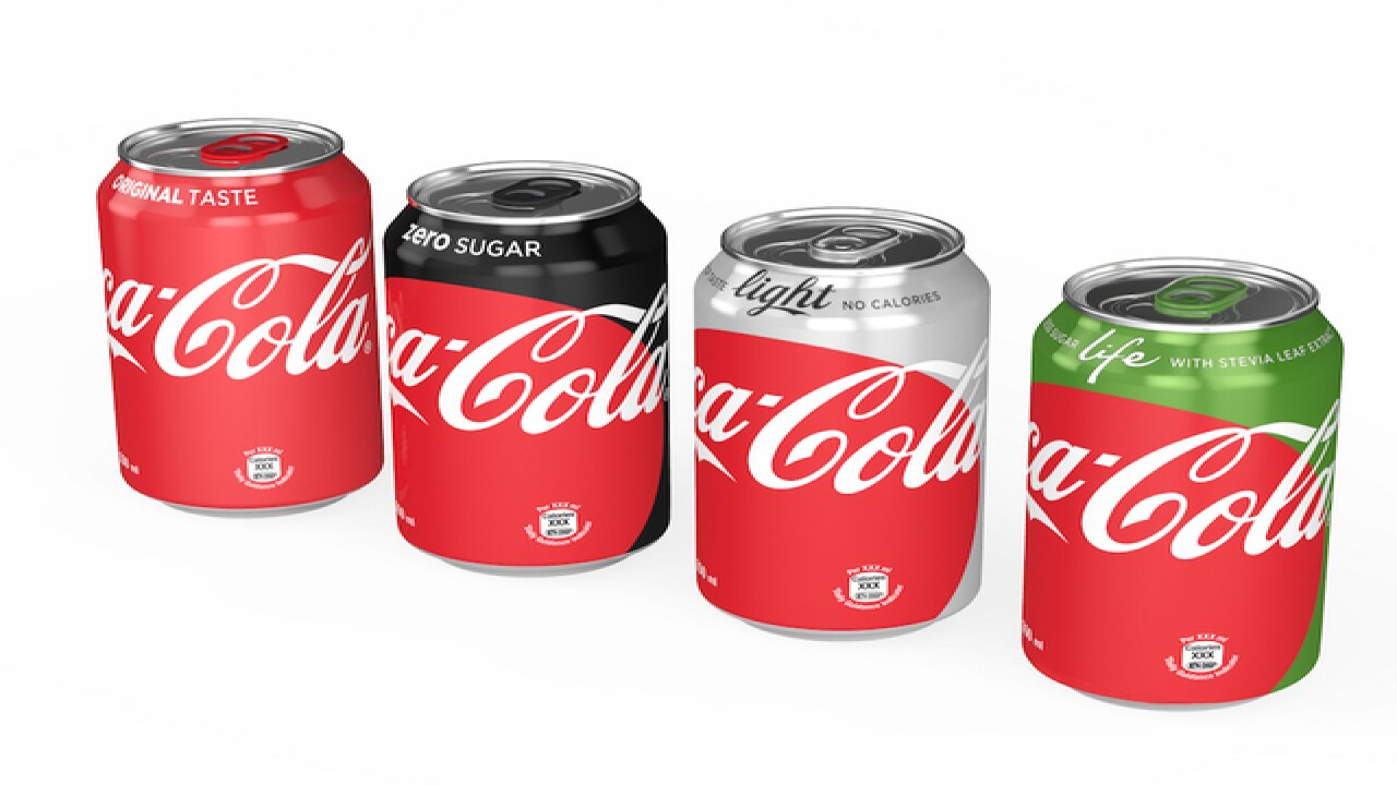 Coke introduces new look for its sodas