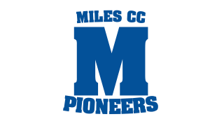 MCC Miles Community College Pioneers logo